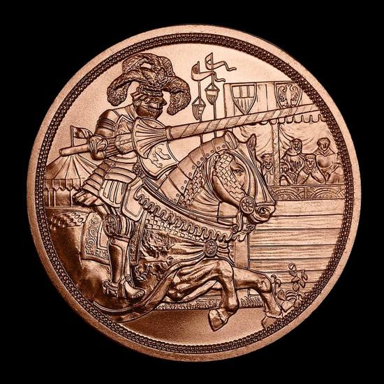 2019 Austria Copper ?10 Knights' Tales (Chivalry)