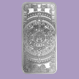 10 oz Silver Bar - Aztec Calendar