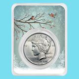 1922-1935 Peace Silver Dollar Snowy Birds BU (Random Year)