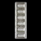 PEZ 6x 5 gram Silver Wafers w/Capsule Case