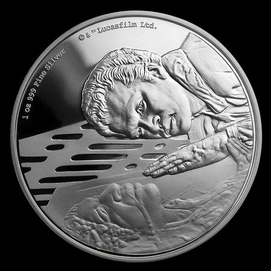 Collectible Star Wars Lando Calrissian 2020 Niue 1 oz Silver (Box & COA)