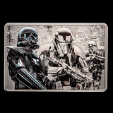 Collectible Star Wars Guards of the Empire - DeathTrooper 2020 1 oz Silver