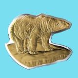 2020 Canada 3 oz Silver $50 Real Shapes: The Polar Bear