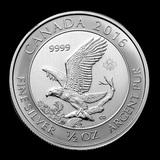2016 Canada 1/2 oz Silver Bald Eagle Uncirculated