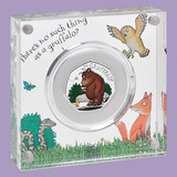 2019 Great Britain 50 pence Silver The Gruffalo & Mouse Proof