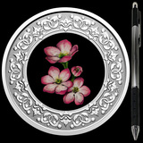 Collectible Floral Emblems - Nova Scotia Mayflower 2020 RCM 1/4 oz Ag