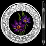 Collectible Floral Emblems - Manitoba: Prairie Crocus 2020 RCM 1/4 oz Ag