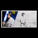 Collectible Star Wars Luke Skywalker w/Album 2018 Niue 5 gram Silver