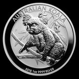 Australian Koala 1 oz Silver 2018