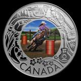 2019 RCM 1/4 oz Silver $3 Celebrating Canadian Fun: Rodeo