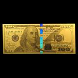 Collectible $100 Replica (Benjamin Franklin Design 24K) 1 gram Gold Note