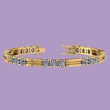 2.50 Ctw Diamond I1/I2 Tennis Bracelet 14K Gold