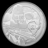 2019 1 oz Niue Clone Trooper Star Wars Silver Coin