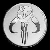 Collectible Star Wars: Mandalorian Mythosaur Coin 2020 Niue 1 oz Silver