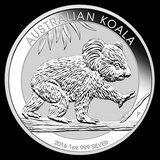 Australian Koala 1 oz Silver 2016