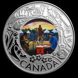 2019 RCM 1/4 oz Silver $3 Celebrating Canadian Fun: Folk Music