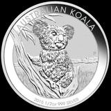 Australian Koala 1/2 oz Silver 2015