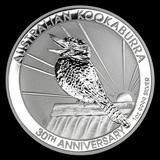 Australian Kookaburra 1 Oz. Silver 2020