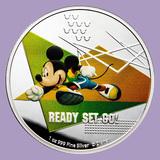 2020 Niue 1 oz Silver $2 Disney Mickey Mouse: Ready Set Go
