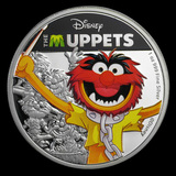 2019 Niue 1 oz Silver Disney The Muppets Animal