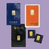 1 gram Gold Bar - Brand Name (w/Assay Card)