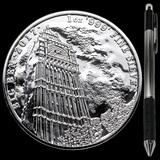 Collectible Landmarks of Britain (Big Ben) 2017 Great Britain 1 oz Silver