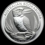 Australian Kookaburra 1 oz. Silver 2012
