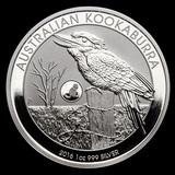 Australian Kookaburra 1 oz. Silver 2016 (Monkey Privy)