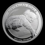 Australian Koala 1/2 oz Silver 2012