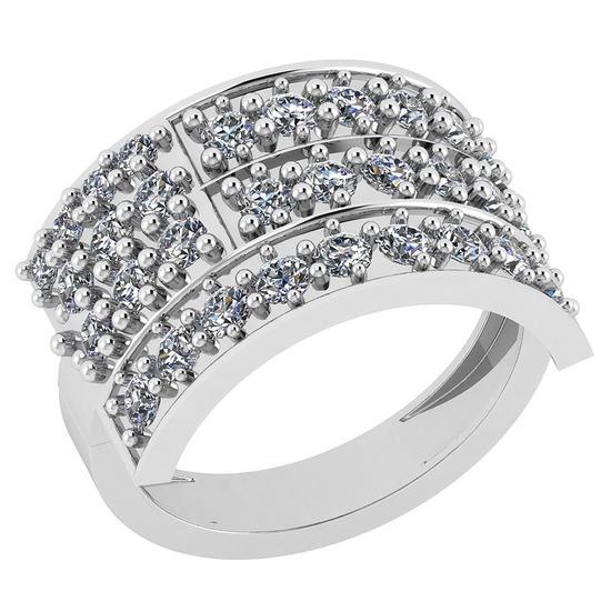 1.25 Ctw VS/SI1 Diamond 14K White Gold Ring