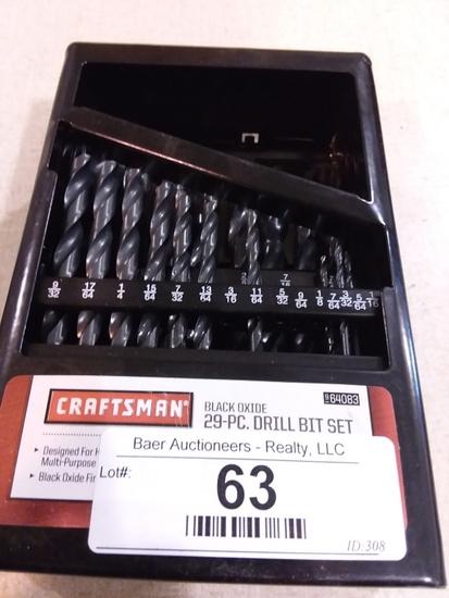 Craftsman Drill Bit Set