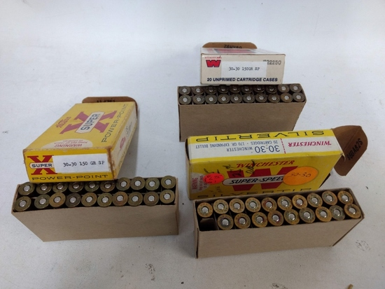 59 Rnds Asst. Winchester 30-30 Ammo