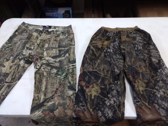Ext .cold Weather Mittens & 2 Pair Hunting Pants