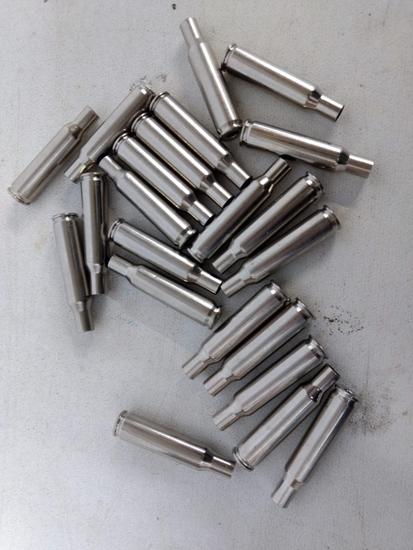 Bag 22 Count Remington 222 Rem Nickle Casings