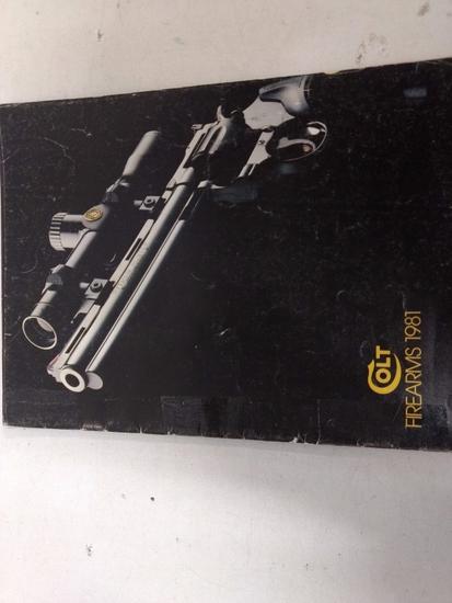 1981 Colt Catalogue (rare)