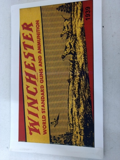 1939 Winchester Catalogue (reprint)