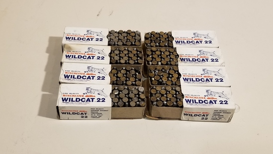 8 - 50 Rnd Box Wildcat 22lr