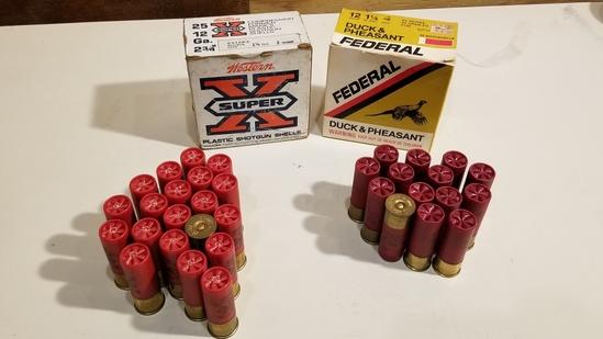 12 Ga Superx 2 Shot & 4 Shot Federals