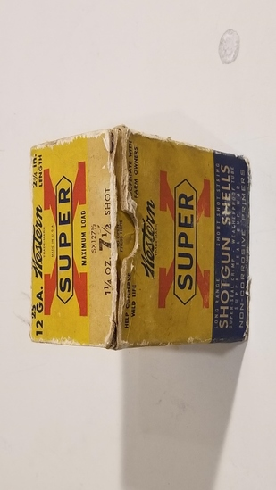 25 Rnd Box Super X 12ga 7.5 Shot