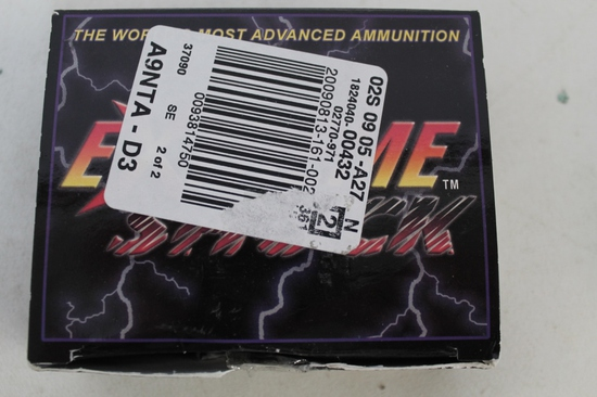 2- Boxes Of Extreme Shock Usa 9mm Ammo