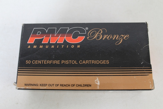 Box Of Pmc Bronze 9mm Luger 115 Gr. Jhp