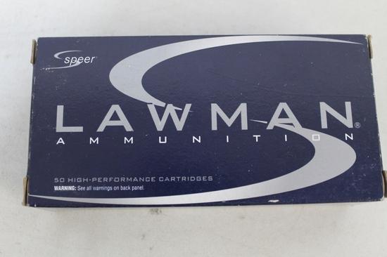 Box Of Speer Lawman 9mm Luger 115 Gr. Tmj