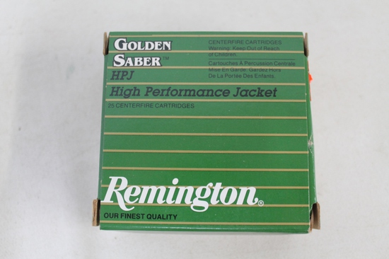 2- Boxes Of Remington Golden Saber 9mm 124 Gr Bjhp