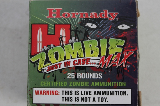 2- Boxes Of Hornady Zombie Max 9mm Luger 115 Gr.
