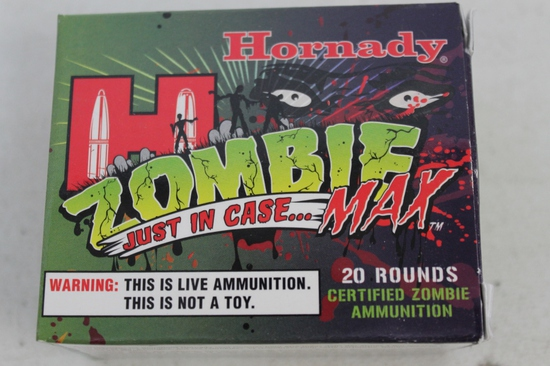 2- Boxes Of Hornady Zombie Max .45 Auto 185 Gr.