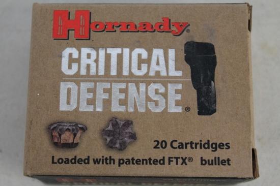 Hornady Critical Defense 45 Auto 185 Gr. Ftx