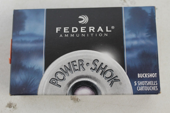 2- Boxes Of Federal 12ga 2 3/4 00 Buck Low Recoil