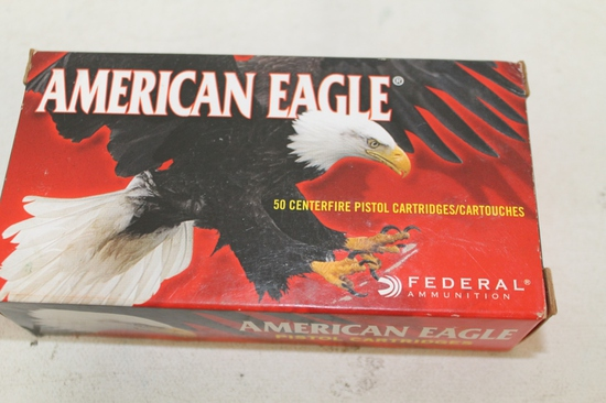 Box Of American Eagle 9mm Luger 124gr. Fmj