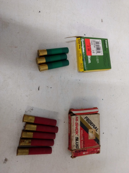 8 Rnds 410 Ammo ( 3 Remington & 5 Federal)