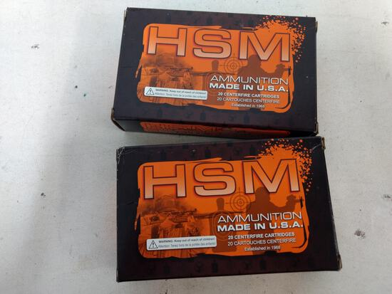 2-20 Rnd Box Hsm 30-40 Krag 165gr Sp Bt